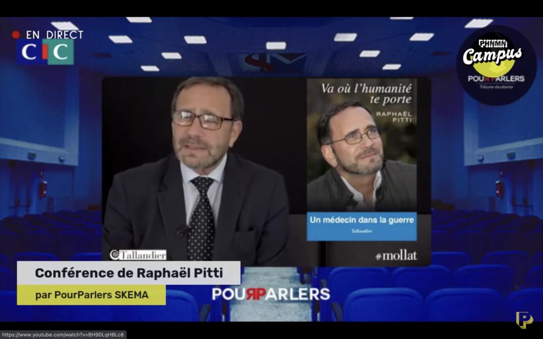 Conférence de Raphaël Pitti avec PourParlers