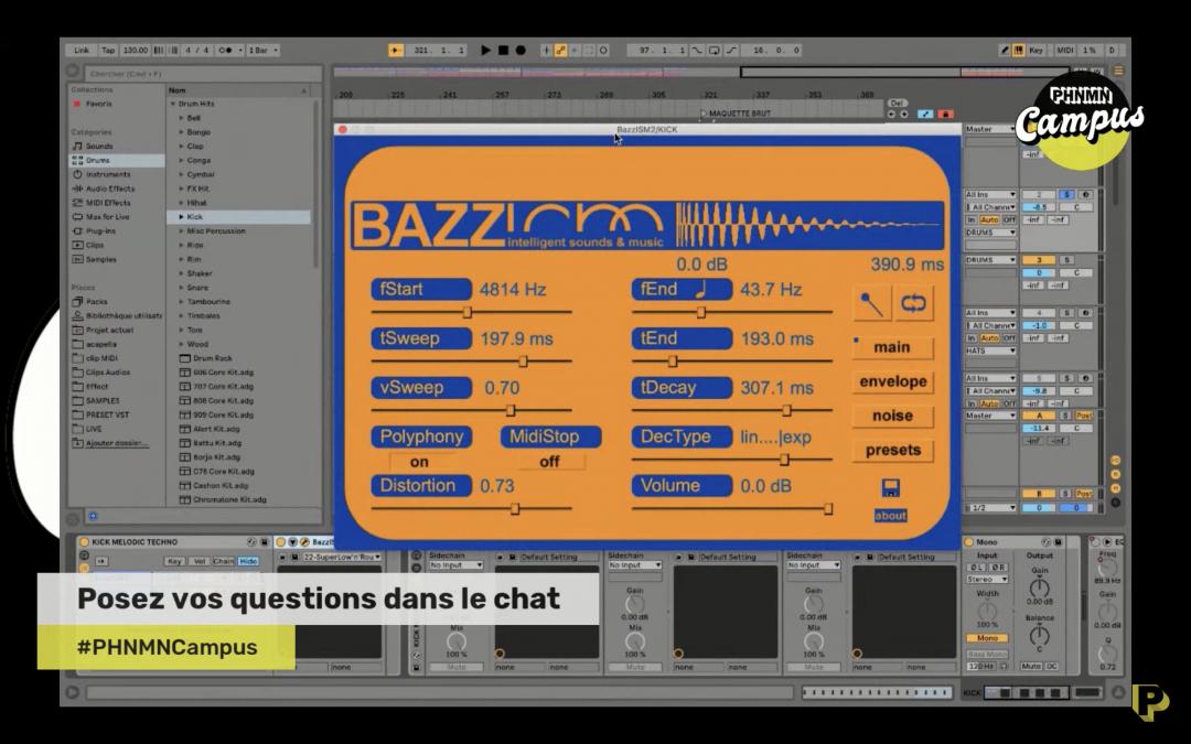 Atelier création beatmaking par Sotere avec Doppler by Phénomène