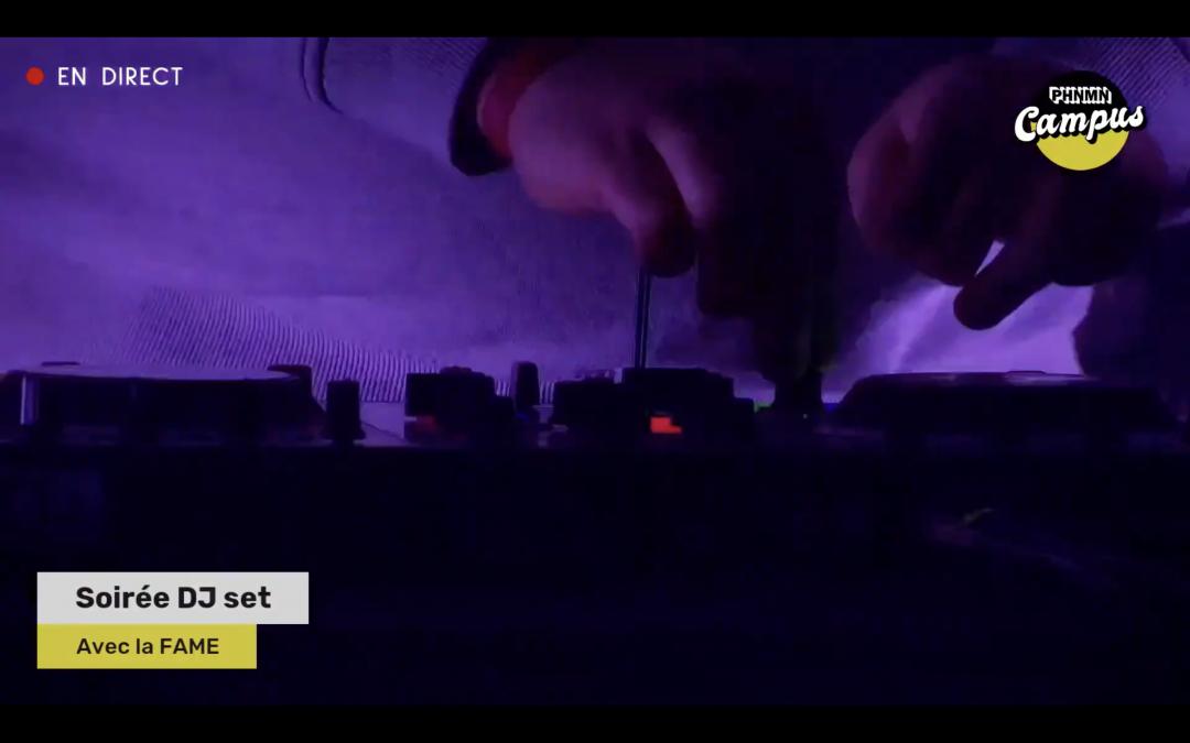 Soirée DJ set avec La FAME